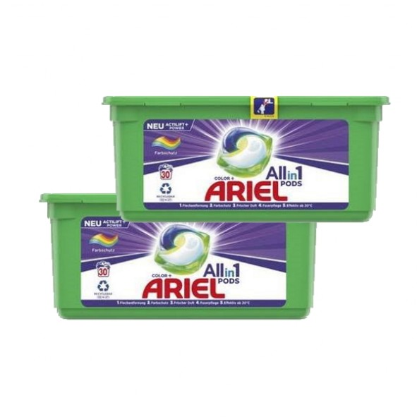 ARIEL 3in1 Pods Waschmittel Color 2 x 30 Pods
