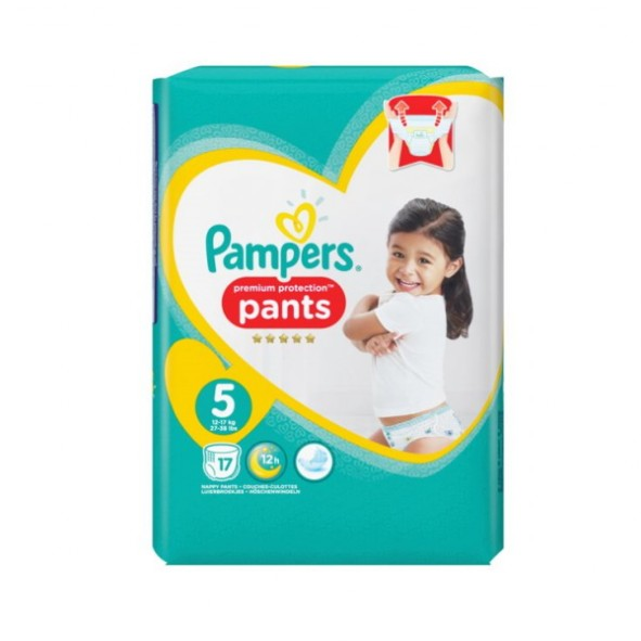 Pampers Windeln Premium Protection Pants Grösse 5