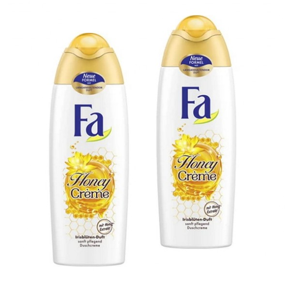 Fa Duschgel Honey Creme 2 x 250ml