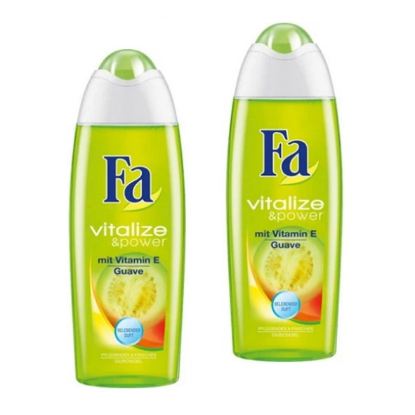 Fa Duschgel Vitalize & Power Guave 2 x 250ml